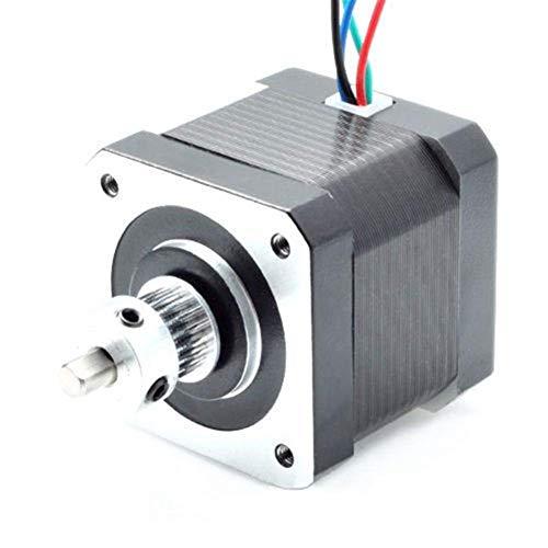 FYYONG Monitoreo de temporización de alimentación 5 x 16T GT2 Aluminio Impresora Polea motriz Compatible with DIY 3D