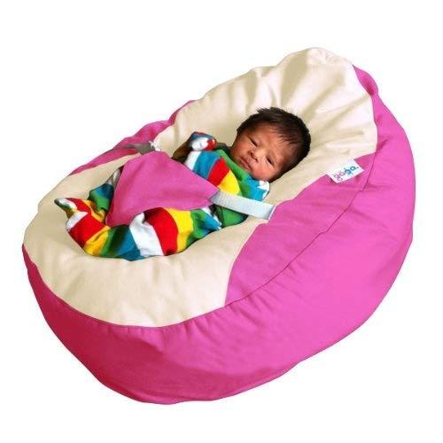 Magnificent Baby Pink Luxury Cuddle Soft Gaga Baby Bean Bags Machost Co Dining Chair Design Ideas Machostcouk