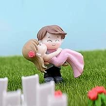 Chocozone Couple Hug Resin Showpiece Couple Miniatures Romantic Gifts for Girlfriend (Hug Couple)