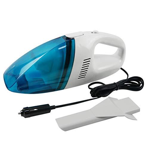 Desconocido Aspiradora de Mano portátil inalámbrica con Potente Limpiador ciclónico en seco y húmedo Diseño de Enchufe de Grava para Polvo de Pelo de Mascotas - Blanco - S
