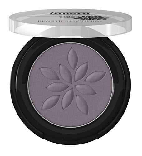 lavera Beautiful Mineral Eyeshadow -Matt'n Violet 33- Lidschatten ∙ Traumhaft sanfte Textur ∙ Vegan Naturkosmetik Natural Make-up Bio Pflanzenwirkstoffe 100% natürlich 3er Pack (3x 2 g)