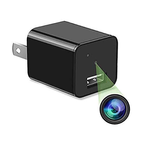 GEQWE Videocámara con Cámara Espía, Mini Cámara Inalámbrica Oculta Cámara De Seguridad para El Hogar con Detección De Movimiento En Interiores, para El Dormitorio De La Oficina En Casa