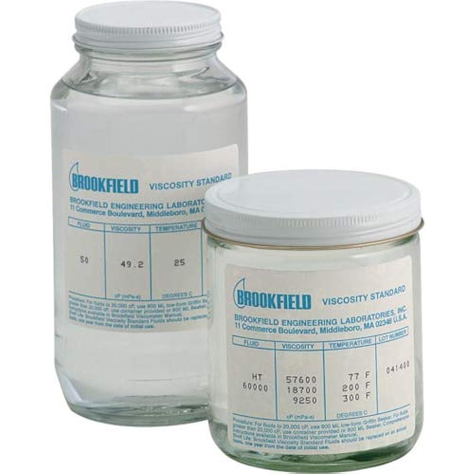 ホースリマークどれでもTRUSCO ブルックフィールド 一般用シリコン粘度標準液 100CP 100CPS