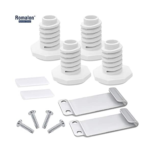 RomalonW10869845 Dryer Stacking Kit Compatible With Whirlpool&Maytag Washer And Dryer Replace Number W10298318RP,1862761, 52774, AH3407625