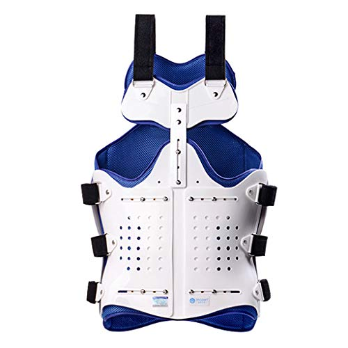 YYSYN bröstländer ryggraden ordessa fasta stöd, ställbart postoperativt ryggraden-rehabiliteringsstöd medicinskt bröstband skydd