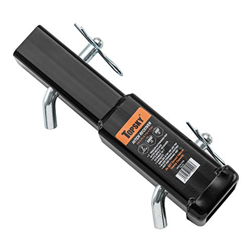 TOPSKY TS2101B Trailer Hitch Pin /& Clip Fits 2 Inch Receiver Black 5//8 Inch Pin Diameter
