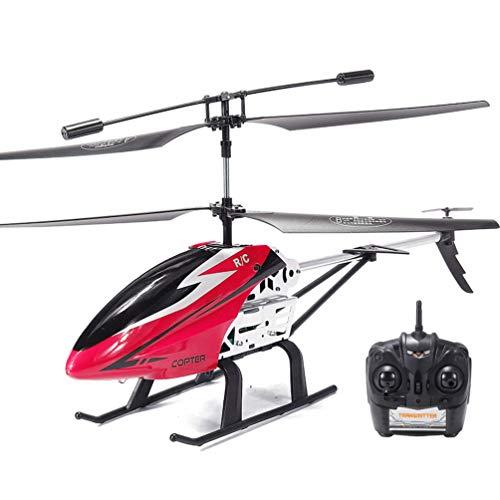 Msoah Helicóptero RC Juguete De Control Remoto Mini Helicóptero De Canal 3,5CH Giroscopio Y Luces LED Incorporados Helicóptero para Niños Y Adultos Juguetes para Niños Y Niñas