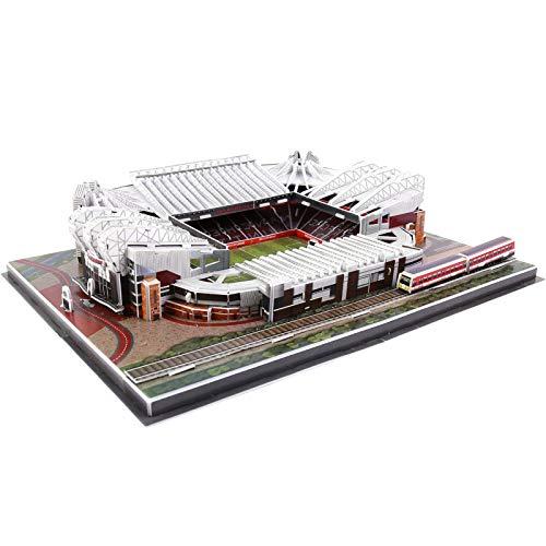 Banatree Stadion 3D Puzzlem, Camp NOU Stadion 3D Puzzle, 3D Puzzle Architektur Modellbausätze für Erwachsene und Kinder