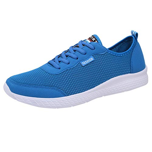 Sayla Zapatos Zapatillas para Hombres Casual Moda Verano Running Transpirable De Malla De Encaje Amante De Los Zapatos De Los Hombres Zapatillas De Deporte Plus TamañO