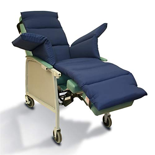 NYOrtho Geri-Chair Comfort Seat Cushion: Navy Taslon Water-Resistant 72'L x 18'W