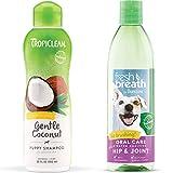 TropiClean Hypo Allergenic Puppy Shampoo and Fresh Breath Oral Care Water Additive
