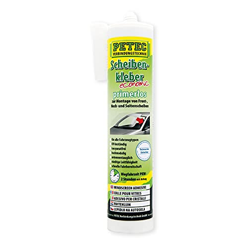 Petec - 84290 - Cartouche colle pare-brise sans primer 290 ml