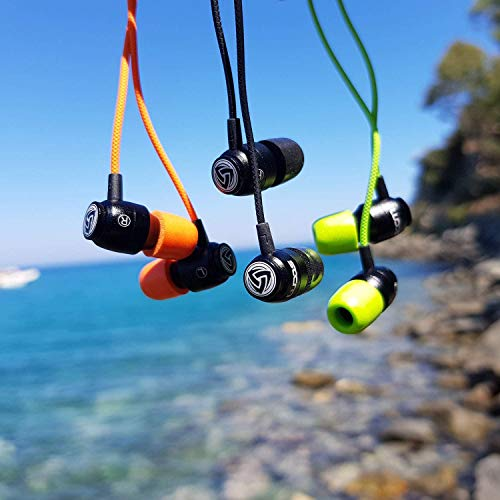 LUDOS 2 Pink Earbuds - Clamor and Ultra Stylish Earphones - Comfortable and Durable