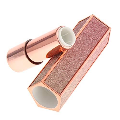 perfeclan 1.21cm Bouteilles Rechargeable Bricolage Rouge à Lèvres,Tube Conteneurs de Cosmétique
