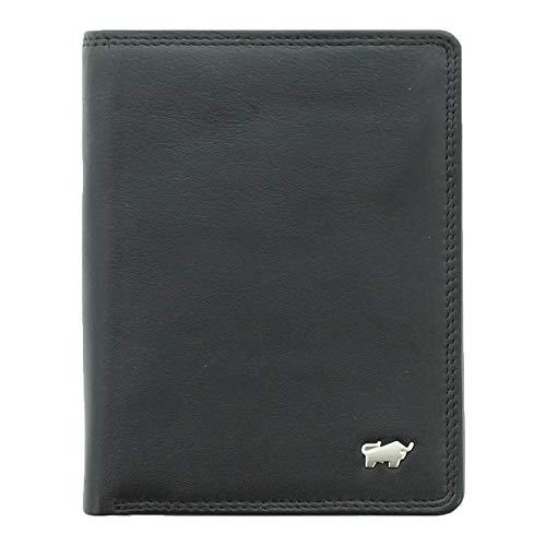 BRAUN BÜFFEL Geldbörse Golf 2.0 aus echtem Leder - 7 Fächer - schwarz