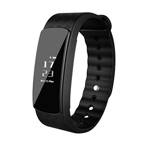 LESHP Fitness Armband Uhr,Wasserdicht IP67 Fitness Tracker Aktivitätstracker Bluetooth Smart-Armband Schrittzähler für iOS und Android