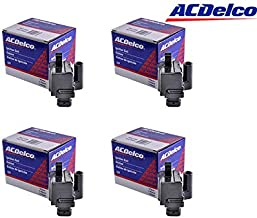 Ignition Coil Fits LS2, LS4, LS7 Engines Square Coil 1st Design ACDelco Mexico BS-C1208 (PACK OF 4))