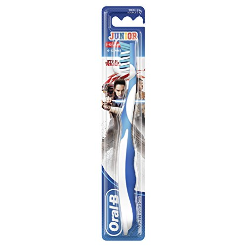 Oral B manual Junior – Cepillo de dientes manual con personajes Star Wars