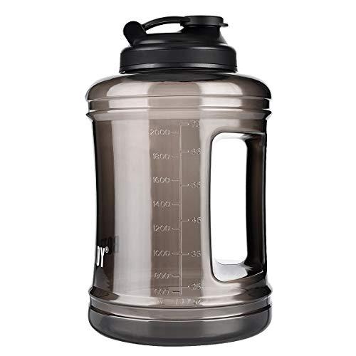 BOTTLED JOY Trinkflasche Sport BPA Frei - 2.5L/2.2L Sportflasche Water Jug - Fitness Trinkflasche Auslaufsicher mit Tragegriff - Ideal f¨¹r Gym Di?t Bodybuilding Outdoor