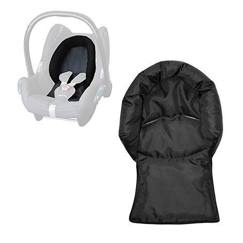 Aveanit Maxi Cosi Kopfkissen Kopfstütze Kopfpolster für Babyschale Sitzverkleinerer Cabriofix Citi NewBorn Auto-Sitzverkleinerer Autositz Wasserdicht Schwarz