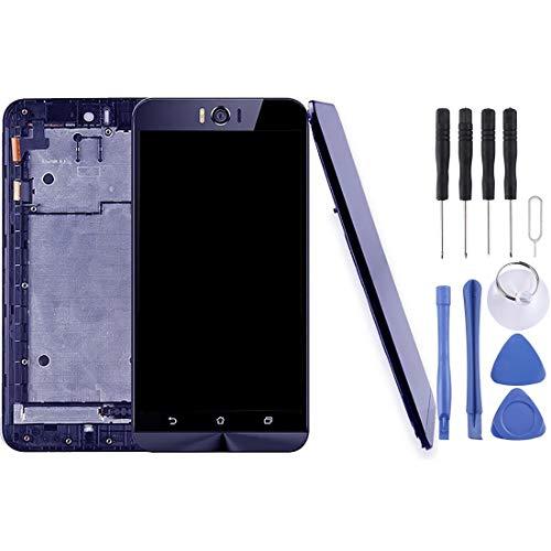 Mingxian Pantalla LCD y digitalizador Asamblea con Marco Completo for ASUS Zenfone Selfie ZD551KL Z00UD (Negro) (Color : Black)