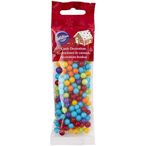 Wilton 710-5820 Gingerbread House Candy Decorations, Multi Colored