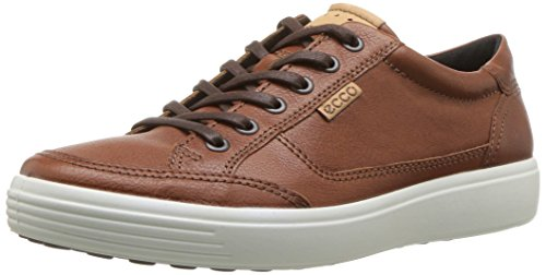 ECCO Men's Soft 7 Sneaker, Cognac, 43 M EU (9-9.5 US)