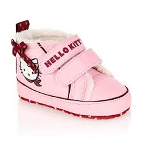 Hello Kitty - Chaussons fourrés Rose - T. 17