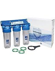 Aquafilter FHPRCL12-B-TRIPLE Système de filtre à eau 3 étapes 25,4 cm BSP