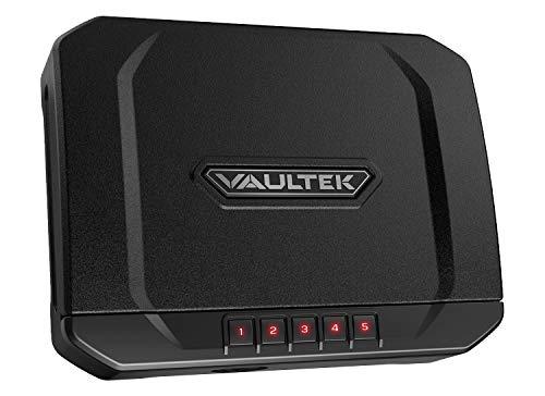 VAULTEK VT20 Handgun Safe Bluetooth Smart Pistol Safe with...