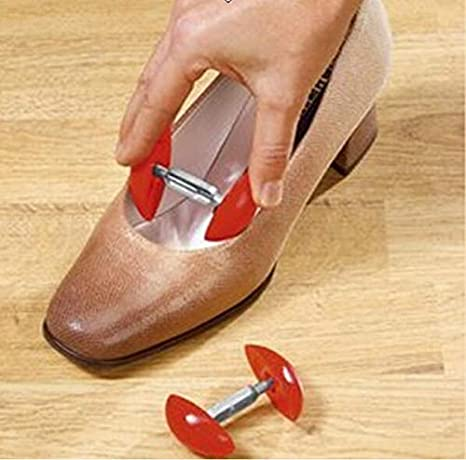 Stiefel Dehner Upstore 2 Paar verstellbare Kunststoff-Schuhspanner Mini-Schuhspanner f/ür High Heels Former Stereotypen Pink Expander Halter