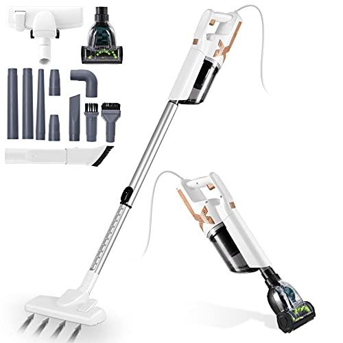 Aspiradora con Cable de 5 m 5 en 1, Aspirador de Mano de 700W 21 kPa, Potencia de...