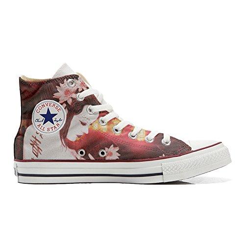 Unbekannt Sneakers Original USA personalisiert Schuhe (Custom Produkt) Geisha Conver - Size EU40