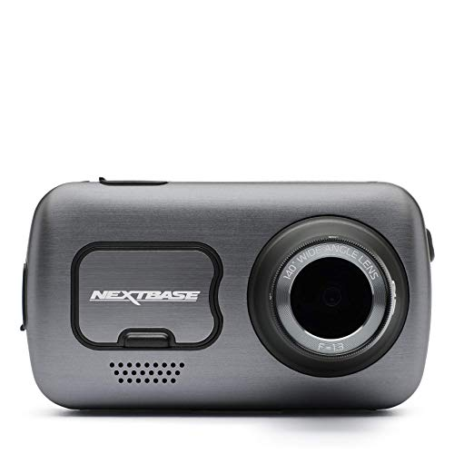 Nextbase 622GW Dash Cam Full 4K 30fps, WIFI, GPS, Bluetooth- Built in Alexa, HD Video, In Car Dashboard Camera - Front Recording -140° Viewing Angle- Mount Included, Car Power Cable