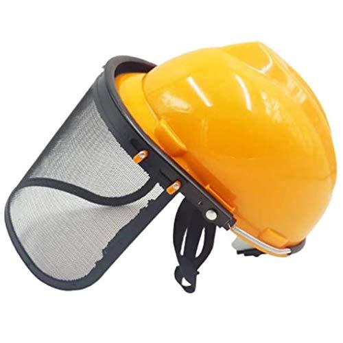 Tapa Protectora, Equipo De Protección, Medio Casco, Aumento Máscara Protectora, Casco Protector Seguridad Para Motosierra Visor Conjunto Combinado Dispositivo Cortacésped Forestal Para Jardinerí