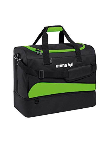 Erima Club 1900 2.0 Sporttasche mit Bodenfach, Green Gecko/Sch, L