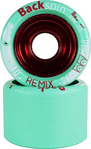 VNLA Backspin Remix Blue 91A Skate Wheels
