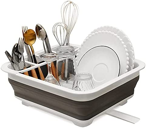 Foldable Dish Rack Kitchen Ranking TOP15 Storage Bowl Drainer Max 78% OFF Tableware Holder