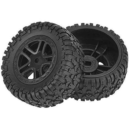 Drfeify Modellauto Reifen 2pcs Rc Lkw Reifen Rad Reifen Verbesserungs Teile Für 1 18 9301 Reihen Hochgeschwindigkeitsmodellauto Spielzeug