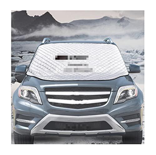 Cubierta DE Nieve del CUCHO Logo DE Logo EMBLEMERADORA DE Pantalla DE Pantalla DE AUTOMÓVIL AUTOMÁTICO AUTOMÁTICO Auto Protector DE AUTOMÁTICOS Exterior, Compatible con Mercedes AMG Auto
