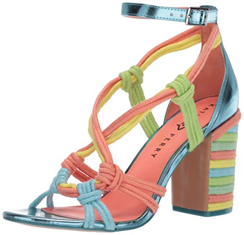Katy Perry Damen-Sandale mit Absatz, (multi), 40 EU