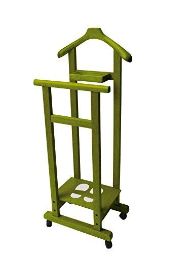 Mimmo Del Fabbro indossatore in legno colore Verde Oliva