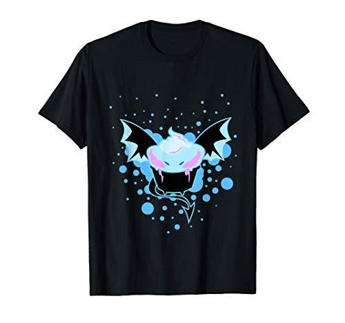 Lindo disfraz de monstruo de murciélago helado de Halloween Camiseta