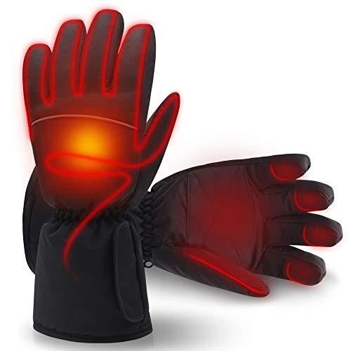 Mann Frau elektrische beheizte Handschuhe, Baumwolle handgefertigte Füße Warmers für Männer Frau Outdoor-Sport Snowboard, Skifahren, Jagd, Walking 4.5V