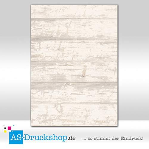 Designpapier textuur - structuur - eiken planken / 50 vellen/DIN A4 / 150 g offsetpapier