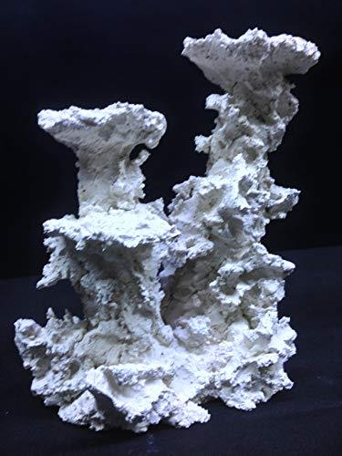 Plateau Säule Riffkeramik 30 cm Meerwasser Aquarium Dekoration