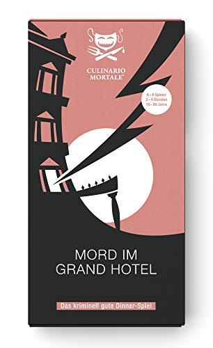 Mord im Grand Hotel – Krimi-Dinner für Zuhause für 6 – 8 Personen