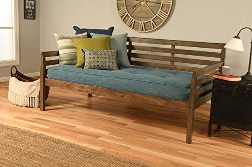 Kodiak Furniture Boho Daybed, Twin, Rustic Walnut Finish
