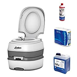 Campingtoilette Enders Deluxe Starter Set Blue 2,5