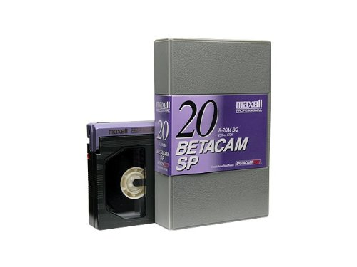 Great Deal! Maxell B-20MSP Betacam SP Video Tape, 20 Minute, Small